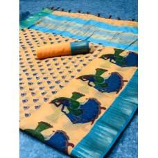 Fabric @super net soft kita cotton Sarees
