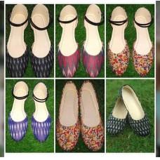 Ikkat shoes