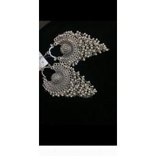 jali german silver earring